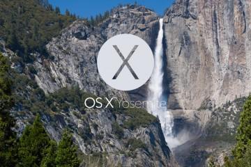 OS X Yosemite August 18, 2014