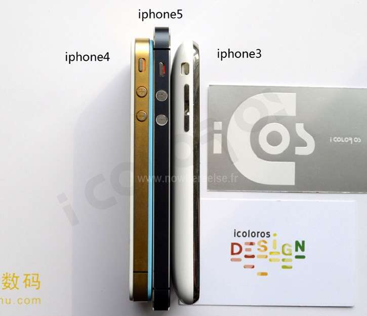 Photo of Side-By-Side Photos of 3 Generations of iPhone Surprising
