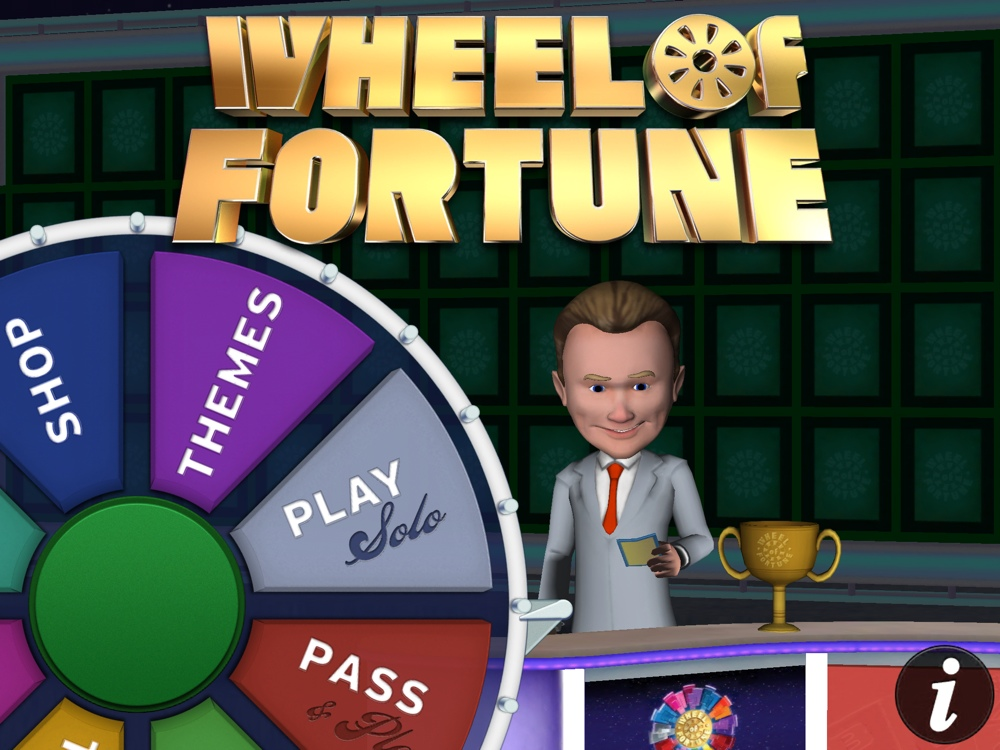 Wheel Of Fortune Application