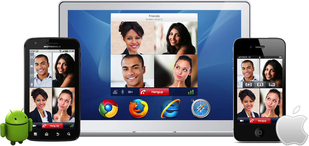 FriendCaller HD Video Chat Now Available for Android Tablets