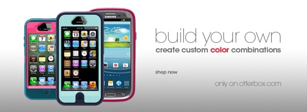 OtterBox fans can create the ultimate customized Defender Series case for the Apple iPhone 4/4S, iPhone 5 or Samsung Galaxy S III by choosing from a multitude of different color combinations only on OtterBox.com. (Photo: OtterBox)