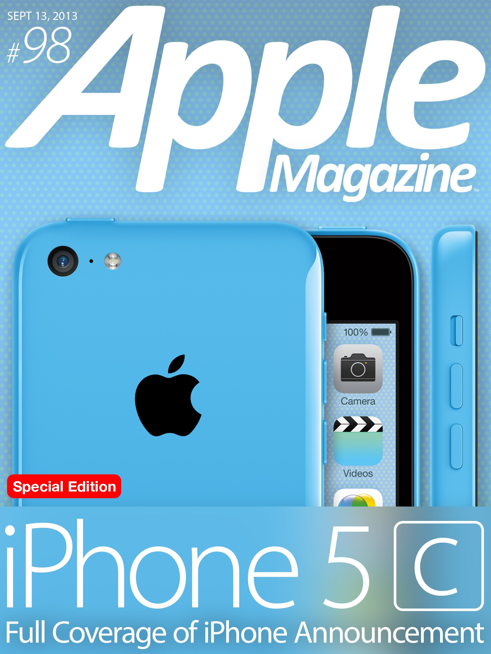 Photo of Apple's iPhone 5c This Week in AppleMagazine