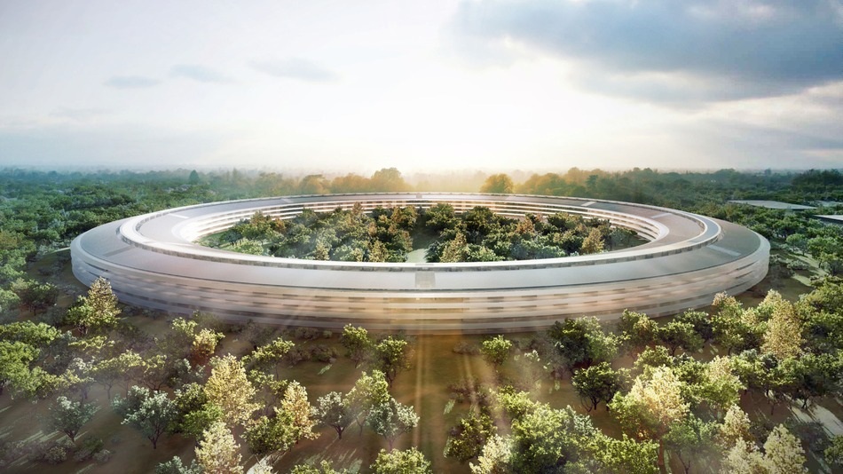 "Photo of Letter to Residents Near Apple's ""Spaceship"" Campus Construction"