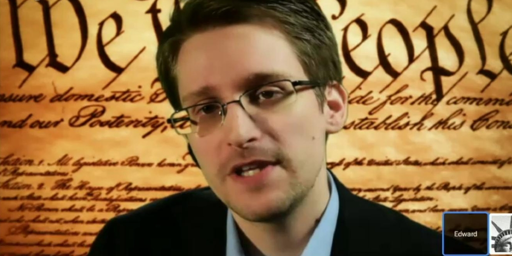 SXSW - Snowden Talks of Internet Security