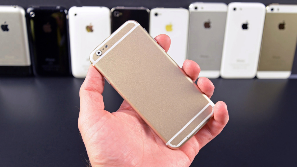 Gold iPhone September 1, 2014