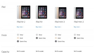 Original iPad Mini Removed From Apple Online Store