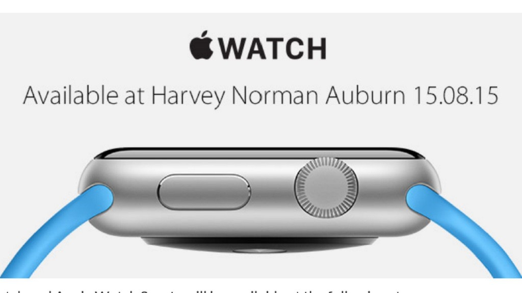 Apple Watch Coming to Australia's Harvey Norman Tomorrow