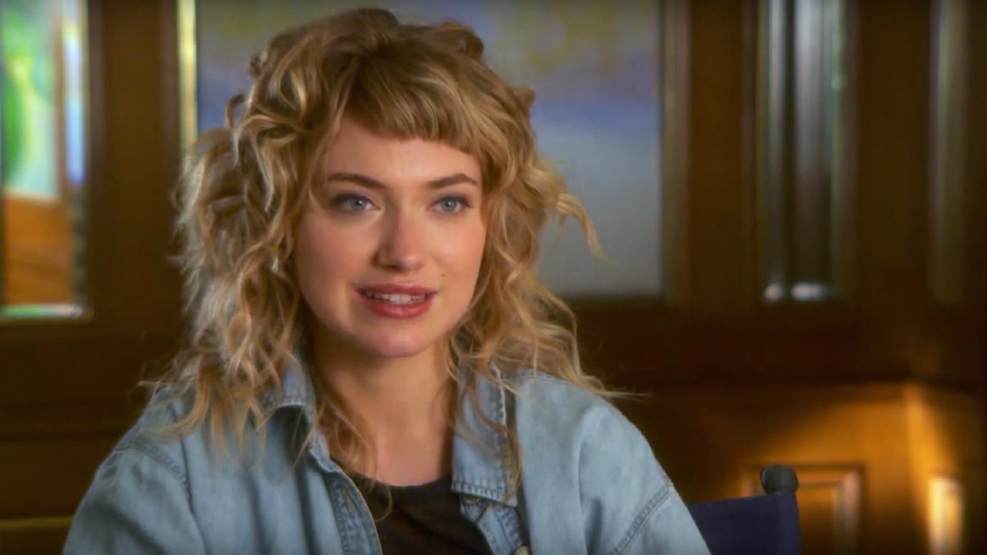 Photo of Why Imogen Poots Opted to Go Retro for She's Funny That Way