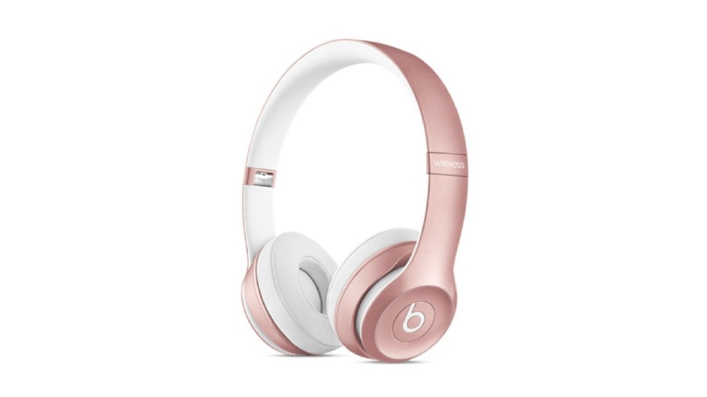 Rose Gold Beats Solo2 and urBeats Headphones Now Available