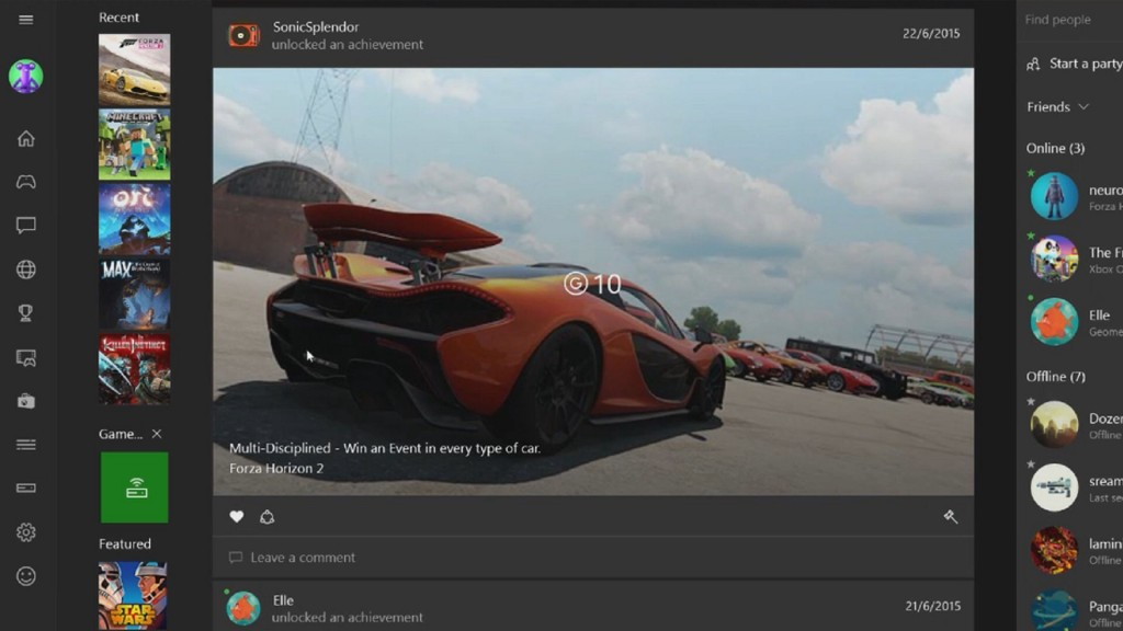Microsoft Adds New Features to Xbox App for Windows 10