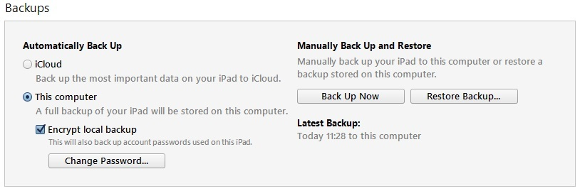 Tips for Securely Backing Up iOS Device Data with iTunes