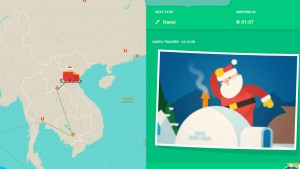 Google's Santa Tracker Showing Saint Nick's Global Travels