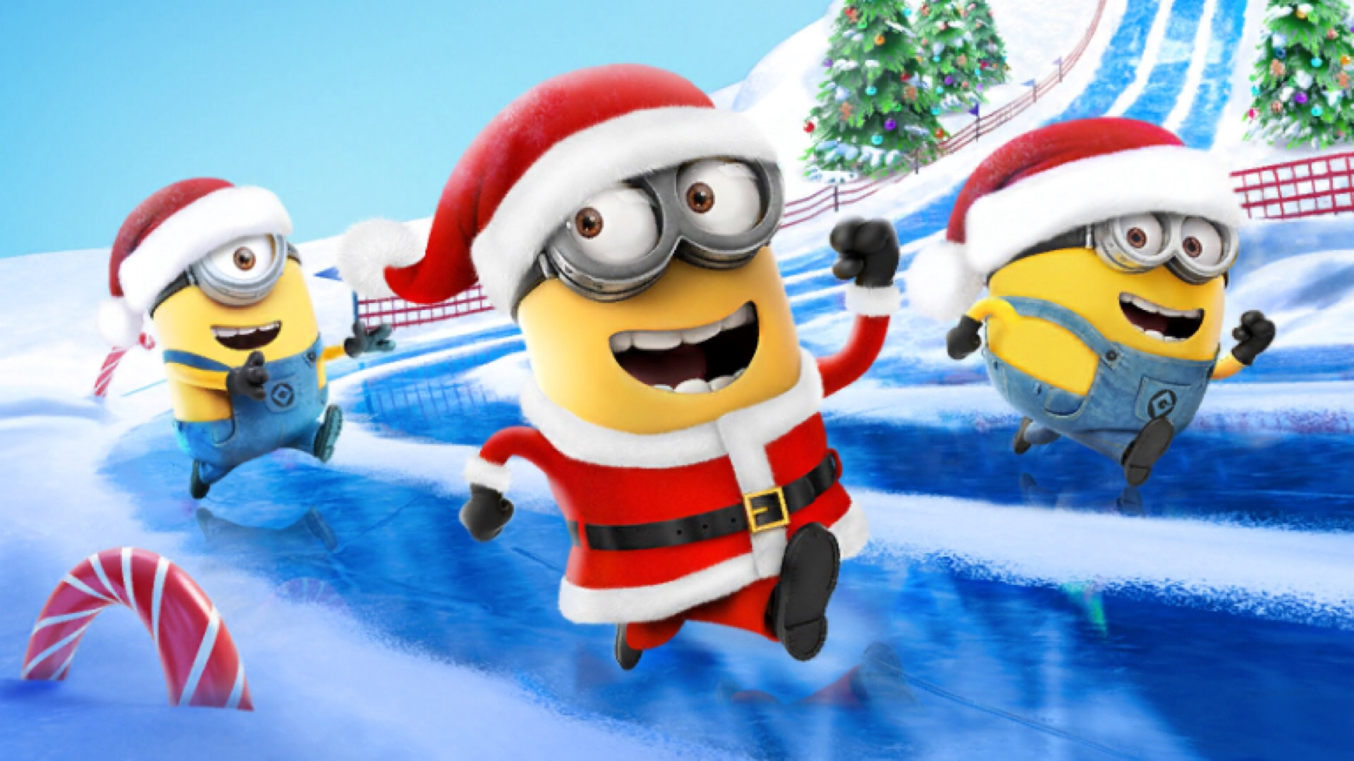 mobile game despicable me minion rush gets festive update - Minion Rush Christmas