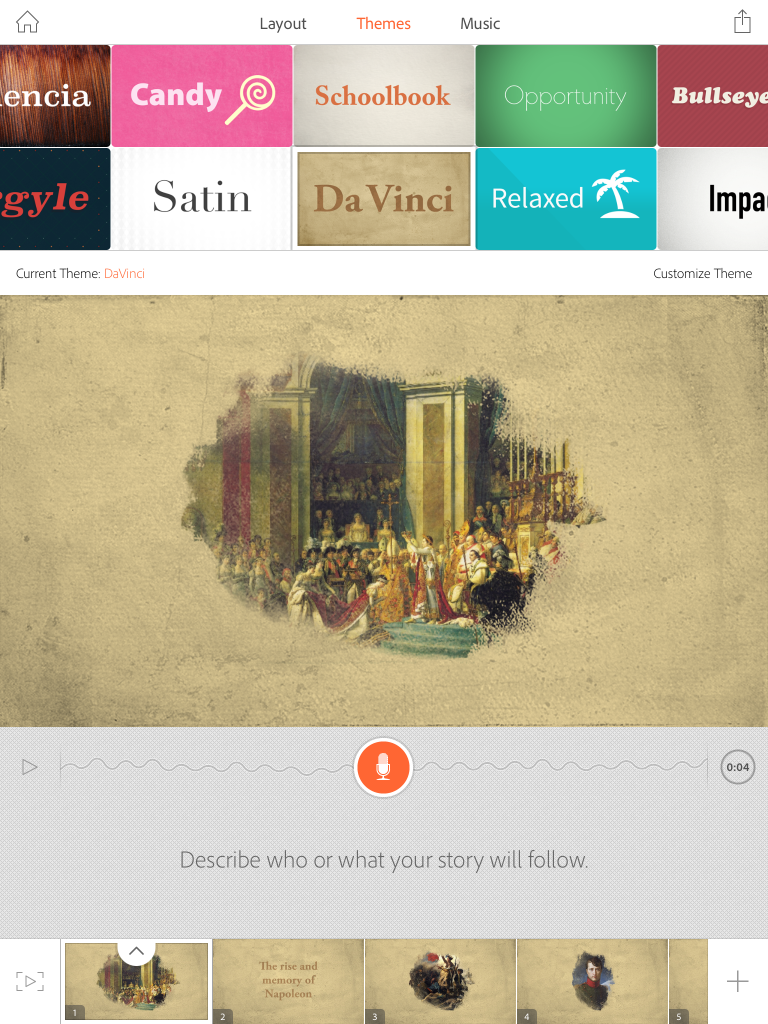 REVIEW: Adobe Voice – Show your story (iOS)