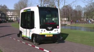 Driverless Bus Trialled on Public Roads in the Netherlands