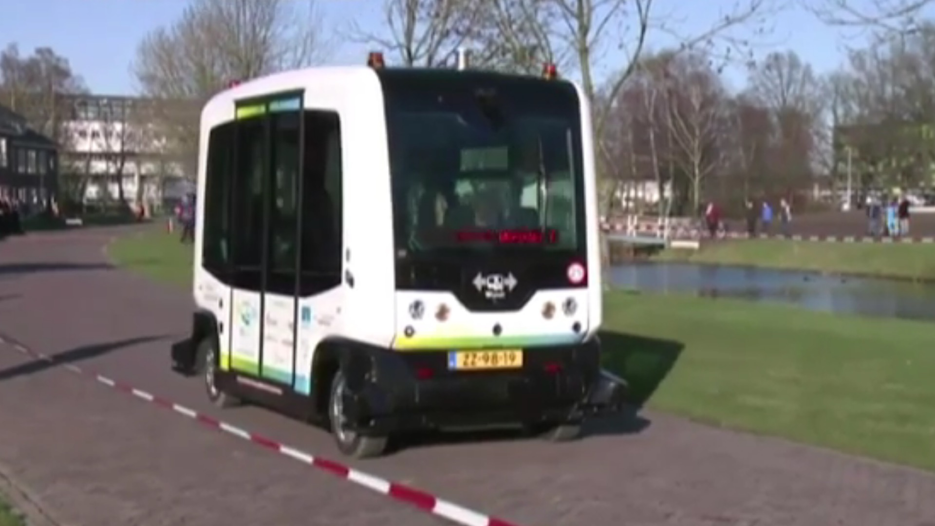 Photo of Driverless Bus Trialled on Public Roads in the Netherlands