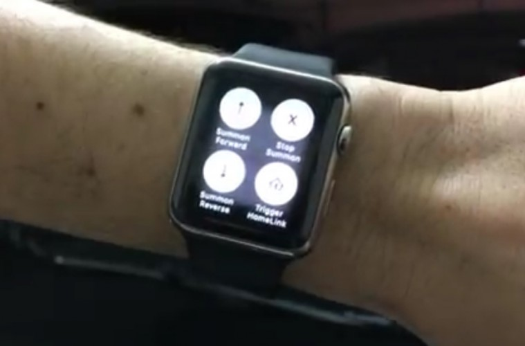 Tesla Model S Can Now Be Remotely Summoned Using Apple Watch