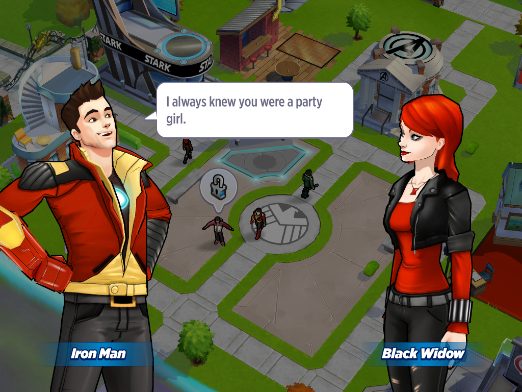 Marvel Avengers Academy is a comic city-builder with ...