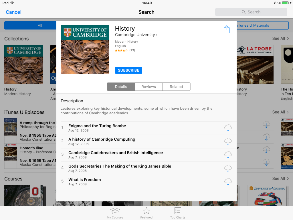 Back to the Past: Learning More about History with the iPad