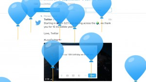 Twitter Thanks Users as it Celebrates Tenth Anniversary