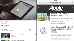 YouTube iOS App Now Supports Split View, Slide Over on iPads