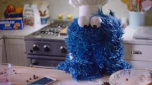 Cookie Monster Proves a YouTube Hit in Latest iPhone 6S Ad