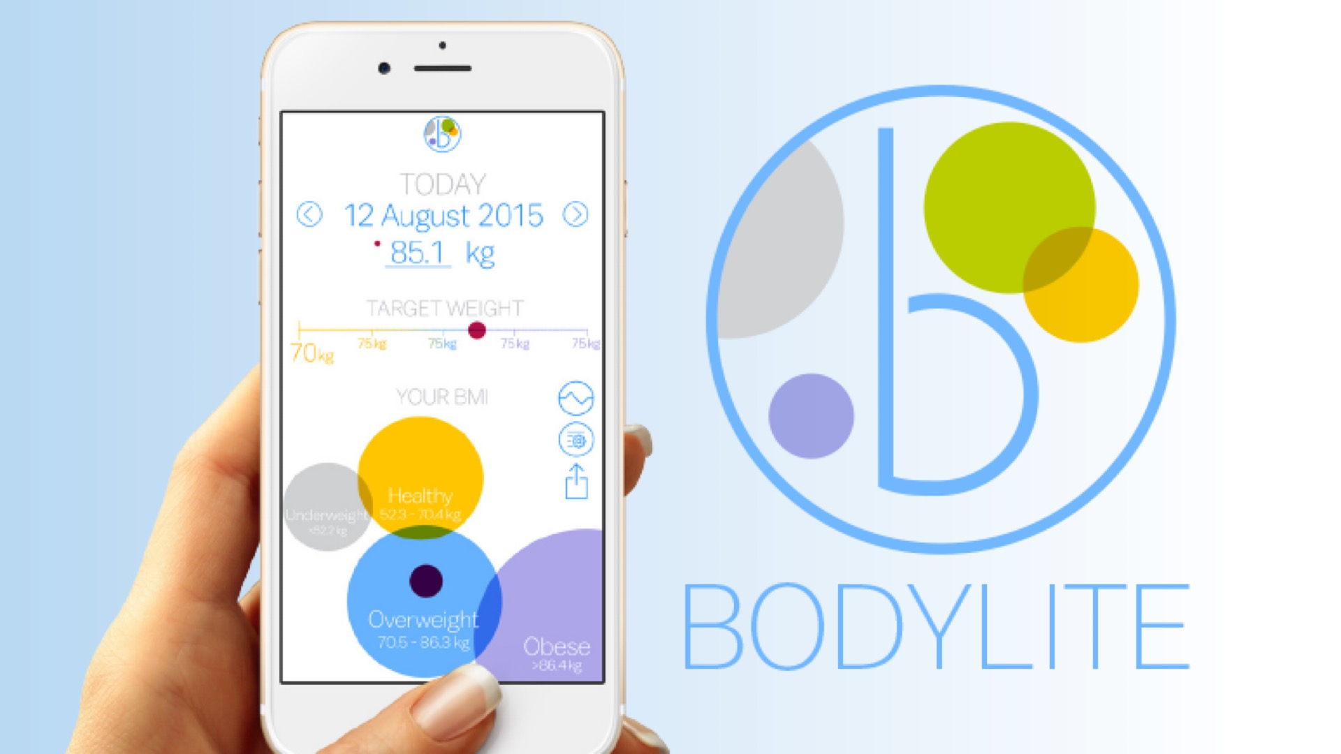 REVIEW: BodyLite: Personal Weight Tracker (iOS)