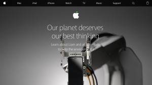 Apple Has Green Makeover on Website and in Retail Stores