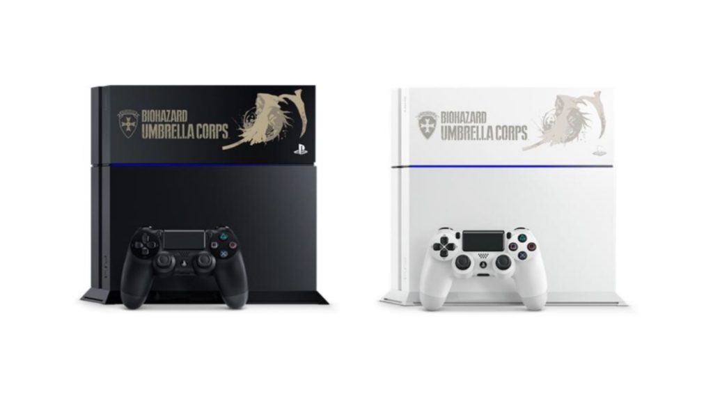 Limited Edition Umbrella Corps PS4 Consoles to Hit Japan
