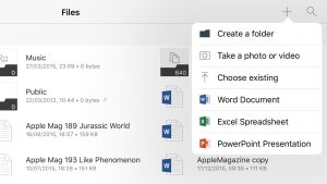 OneDrive on iOS Now Allowing In-App Office File Creation