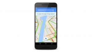 Various Voice Commands Added to Google Maps Android App