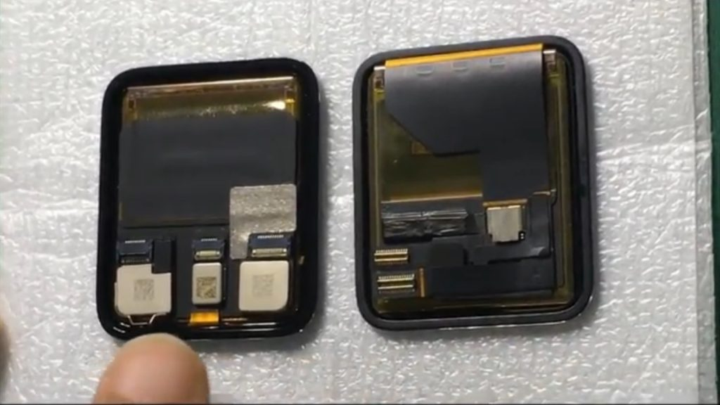 Video Shows Alleged Display and Battery for Apple Watch 2