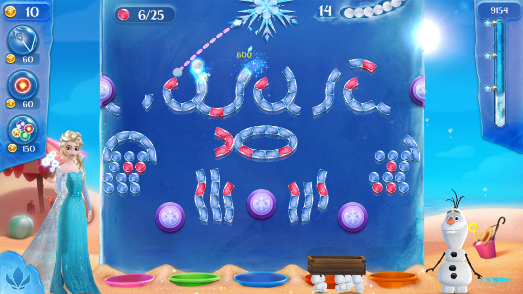 REVIEW: Frozen Free Fall: Icy Shot (iOS)