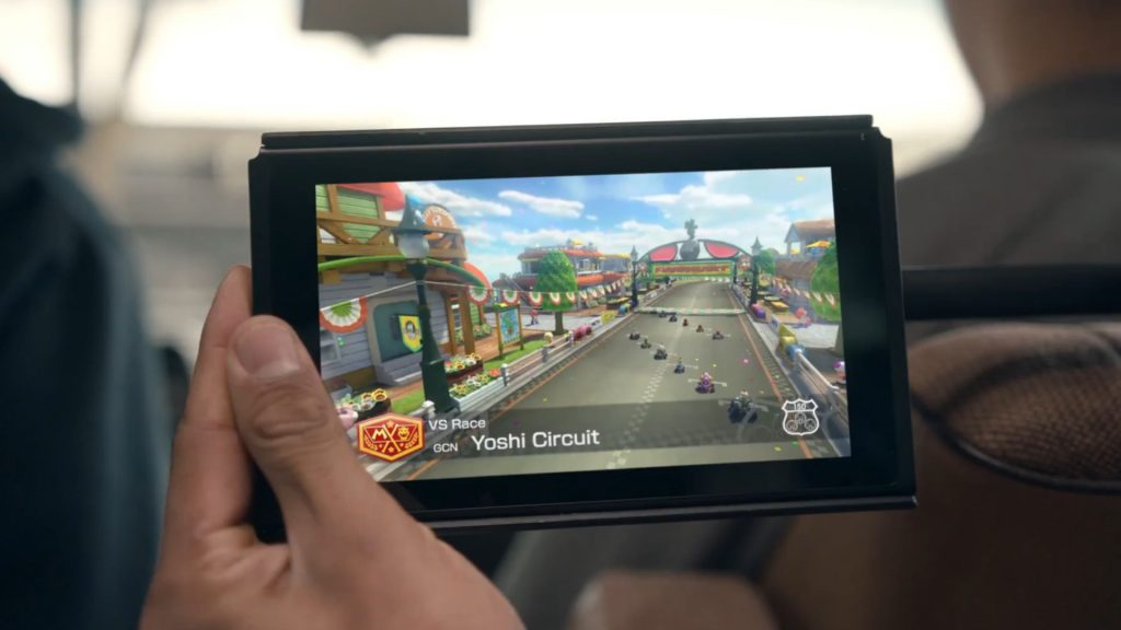 Hybrid Console the Nintendo Switch Shown Off in New Video