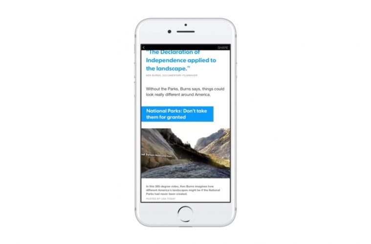 Facebook Bringing 360 Videos and Photos to Instant Articles