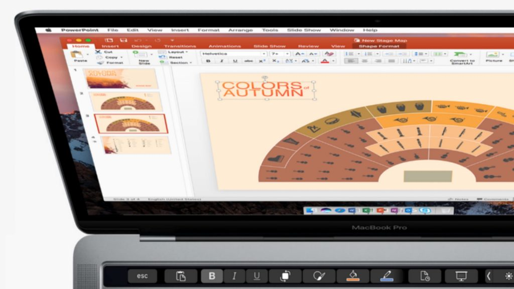 Microsoft Office Now Supports New MacBook Pro's Touch Bar