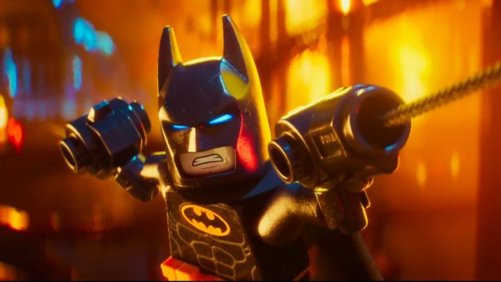 New Trailer Appears for Next Year's The LEGO Batman Movie