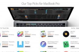 Apple Highlights Apps Supporting MacBook Pro's Touch Bar