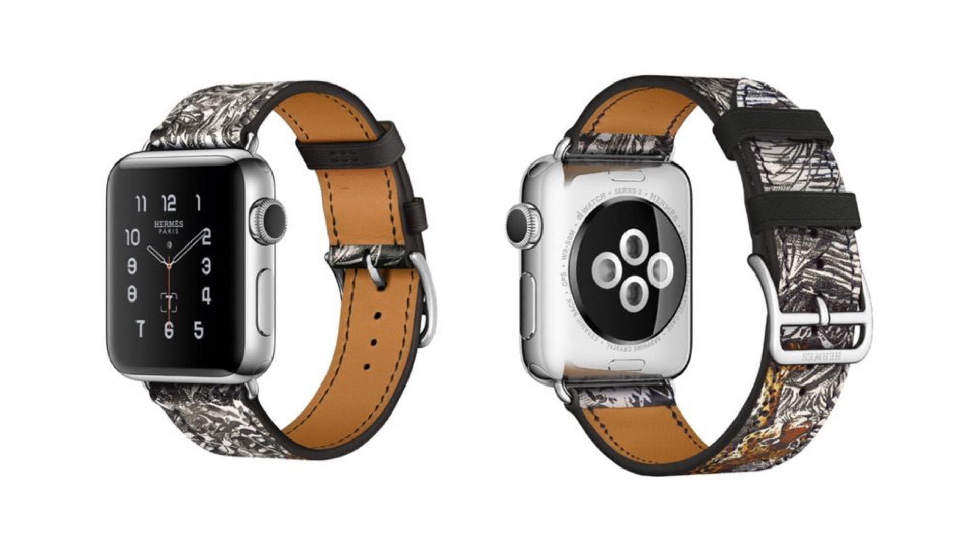 "Photo of Hermès to Sell Special ""Ecuador Tattoo"" Band for Apple Watch"