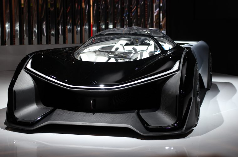 Faraday Future Unveil And Demonstrate Self-Driving Car At CES