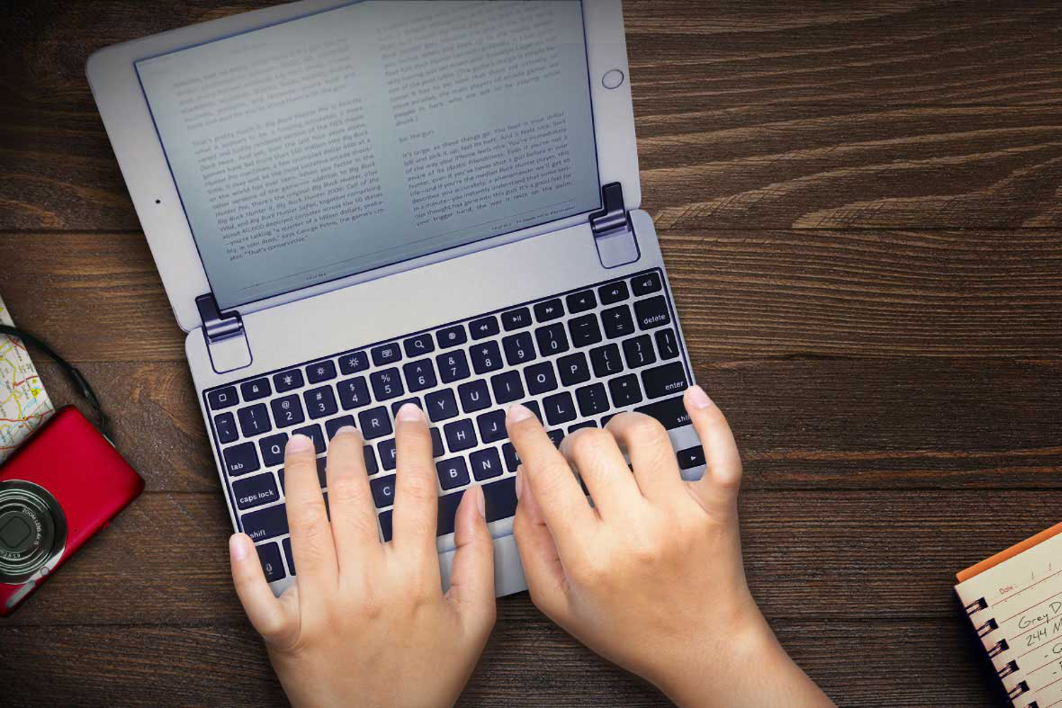 Photo of A novel idea? Using your iPad to write a book with the best iPad Pro keyboards