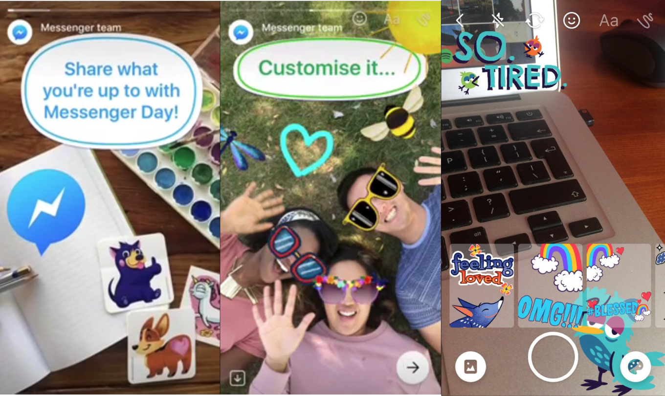 Photo of Facebook unveils yet another Snapchat clone in the form of Messenger stories