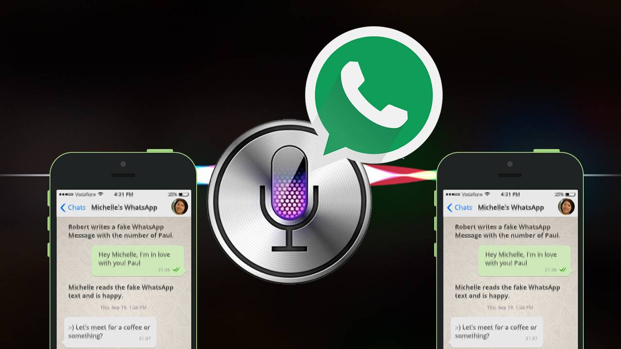 Need to go hands free? WhatsApp users can now get Siri to read out
