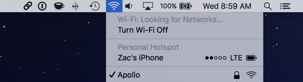 How to check your iPhone battery % through your Mac