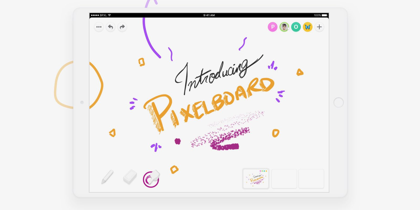 Photo of Black Pixel and Pixelboard have created a whiteboard app for the iPad