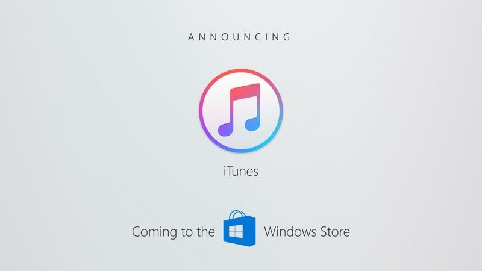 Photo of iTunes won't be available on Windows Store this year