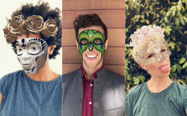 Photo of New face filters launched on Snapchat for iPhone X