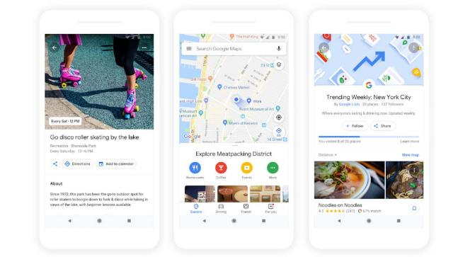 Photo of New Google Maps gives you personalised recommendations