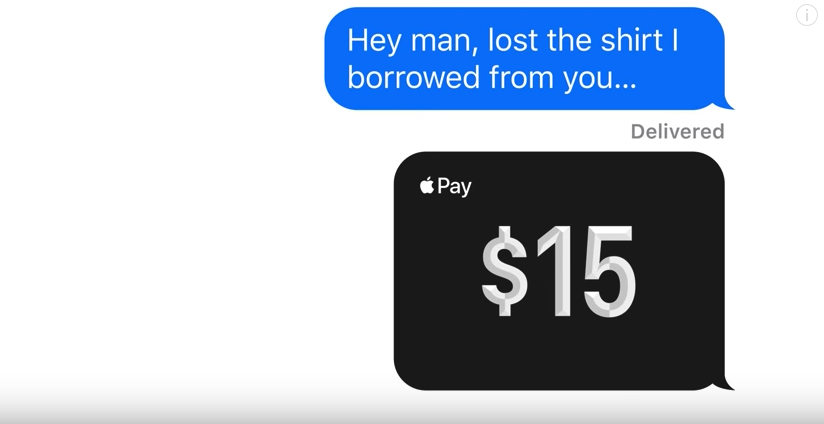 Photo of Apple showcases new Apple Pay Cash feature in latest ads