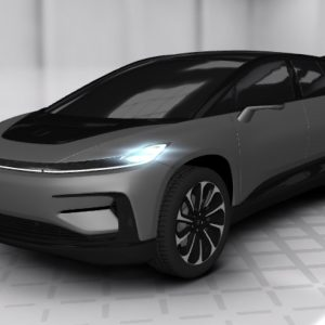 "Faraday Future offers ""3D Tour"" of first car model, FF 91"